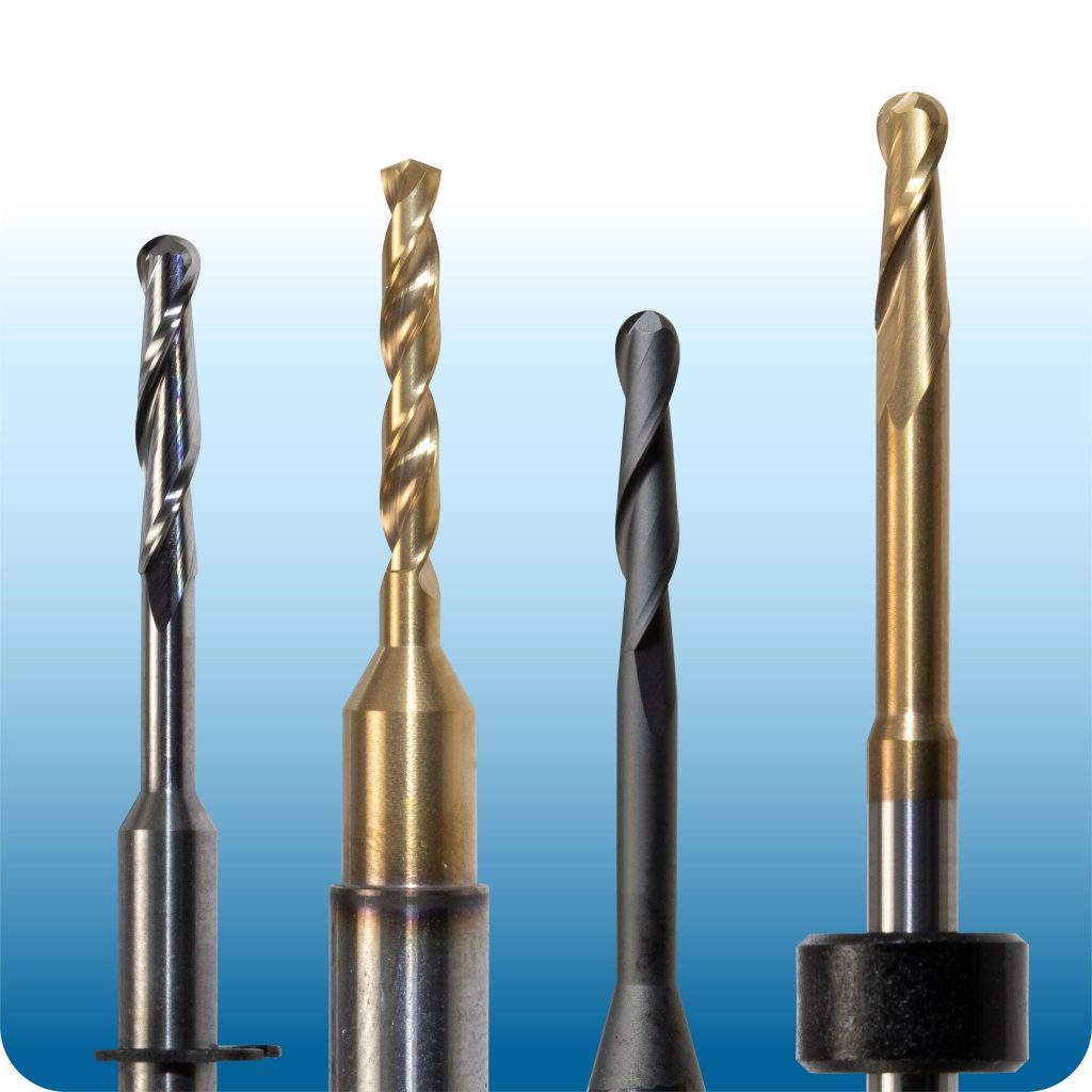 CAD CAM Dental Burs - Mills